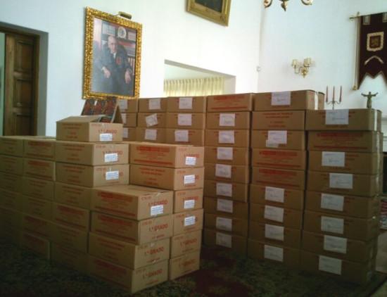 Folletos listos para ser distribuidos por todo el Perú